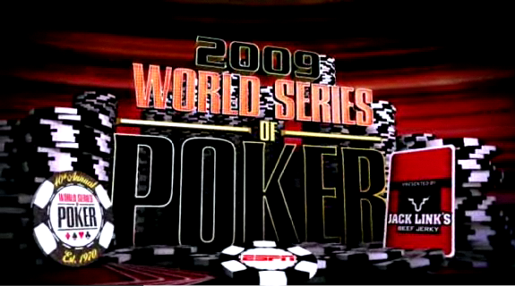 2009 Wsop Final Table